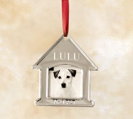 No. 1 Pet Engravable Metal Ornament