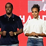 Diddy and Kerry Washington