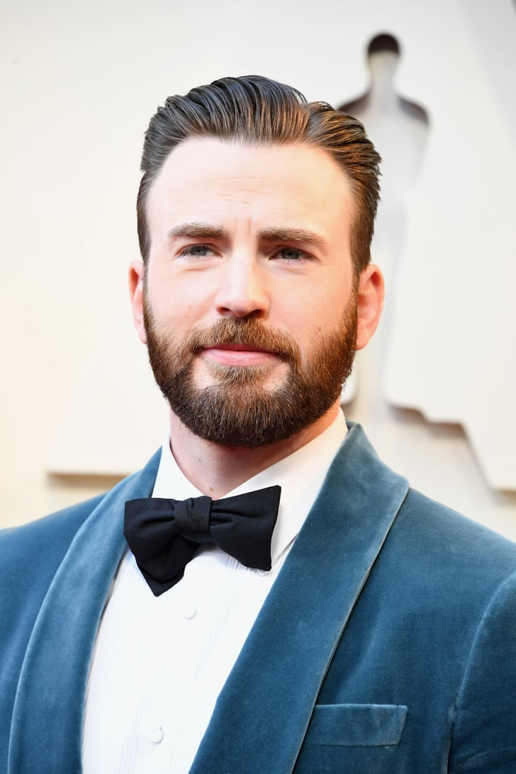 Chris Evans at the Osc...