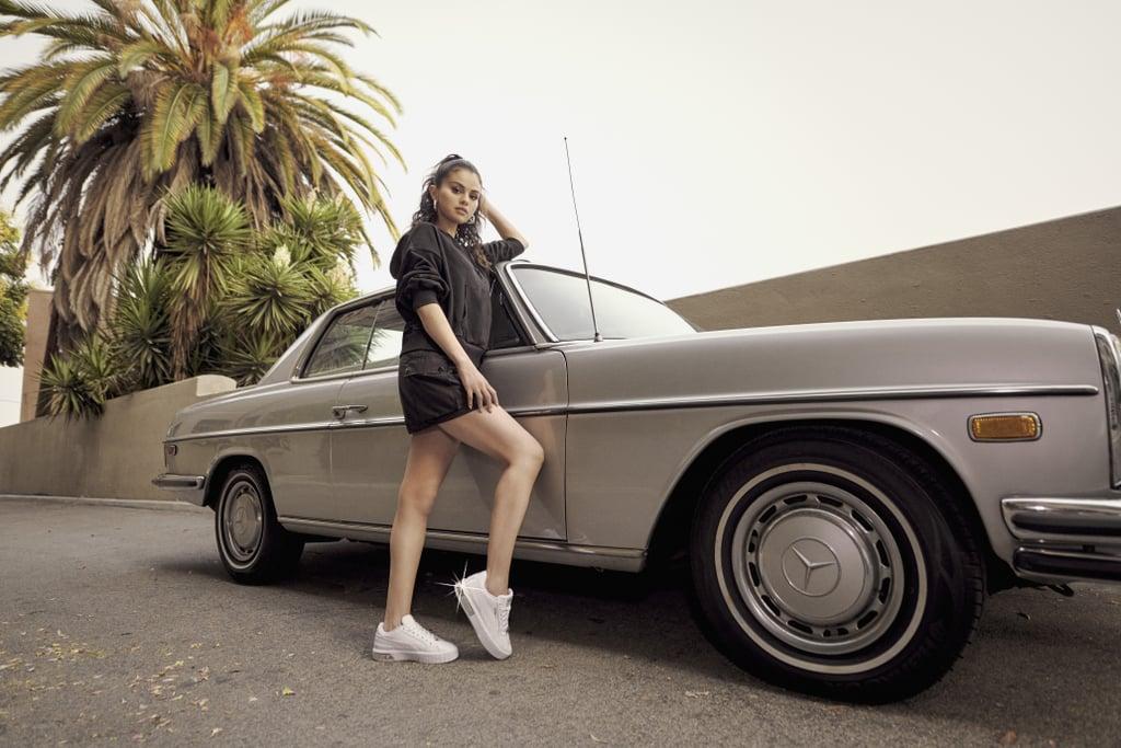 Shop Selena Gomez's Puma's New Cali Star Metallic Sneakers