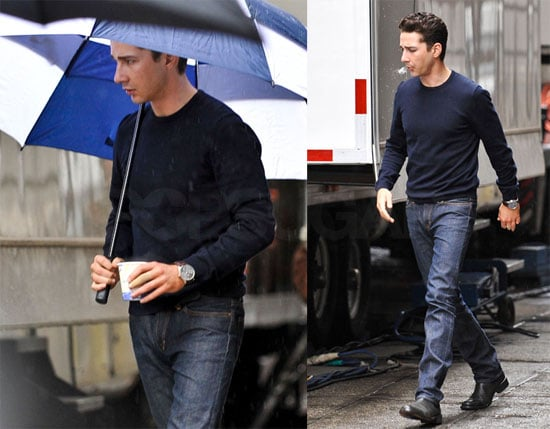 Photos of Shia Labeouf in Blue