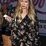 Lauren Conrad stepped out solo to see Katy Perry in concert.