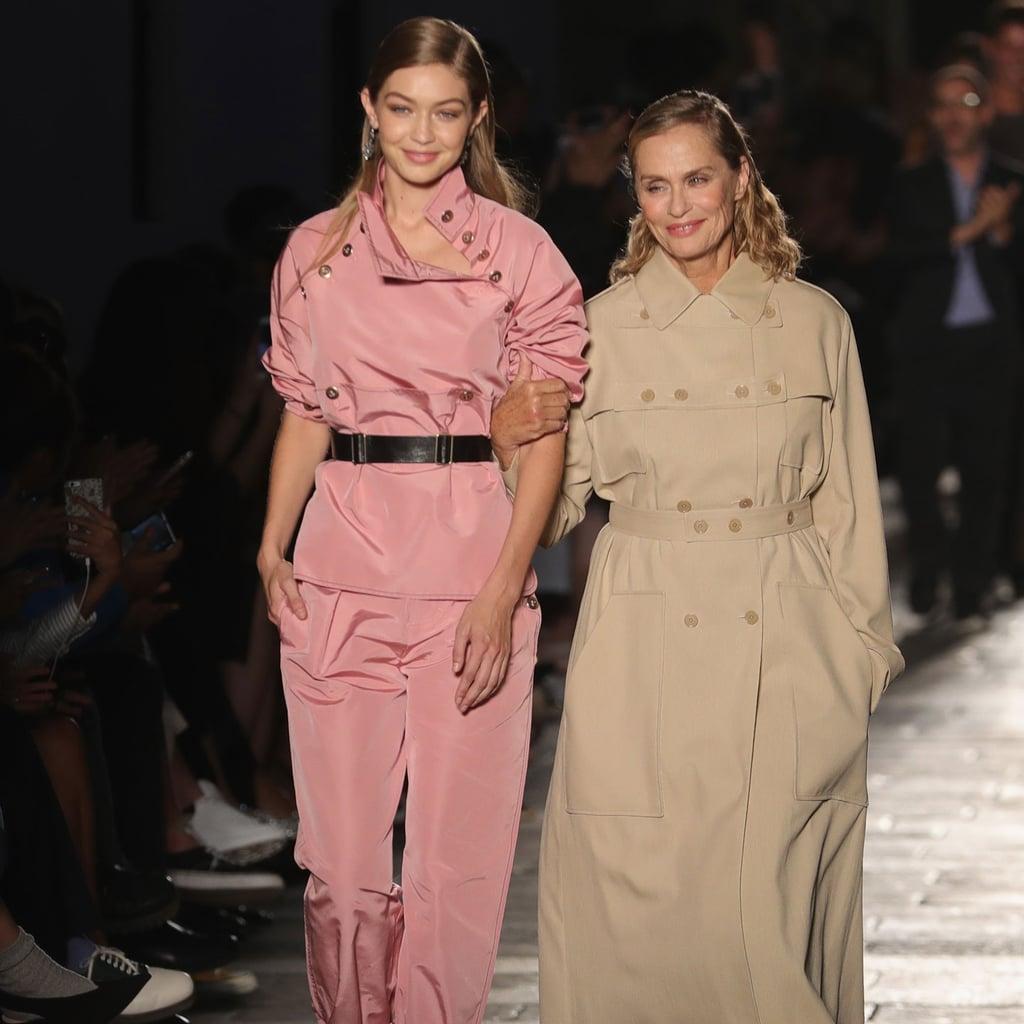Gigi Hadid and Lauren Hutton Walk the Bottega Veneta Runway