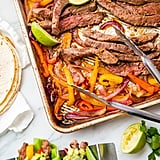 Sheet Pan Fajitas with Steak