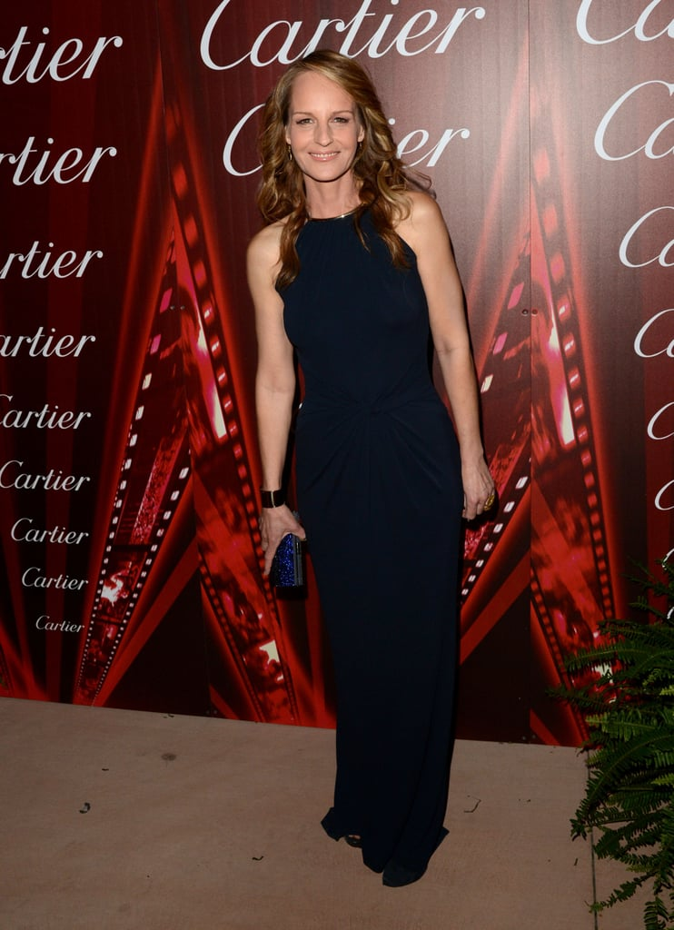 Helen Hunt walked the carpet.