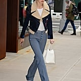 Gigi Had Worn Them a Few Days Before, While Out in NYC