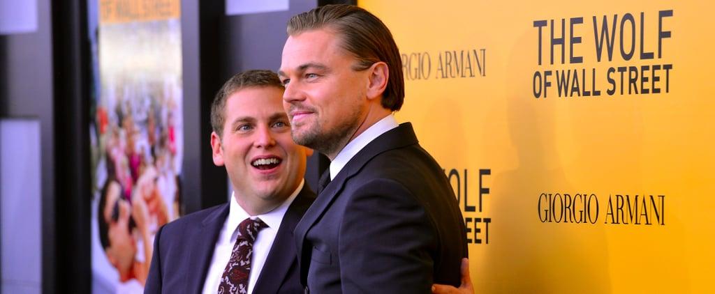Leonardo DiCaprio and Jonah Hill Photos