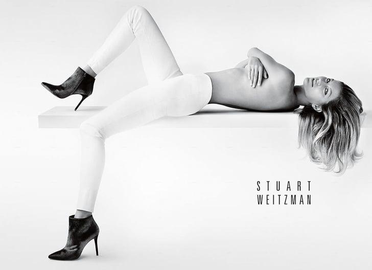 Gisele Bundchen Topless Stuart Weitzman Campaign