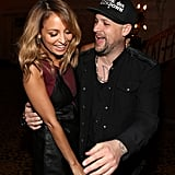 In September 2012, Nicole Richie and Joel Madden showed PDA at Macy's Glamorama 30th anniversary event in LA.