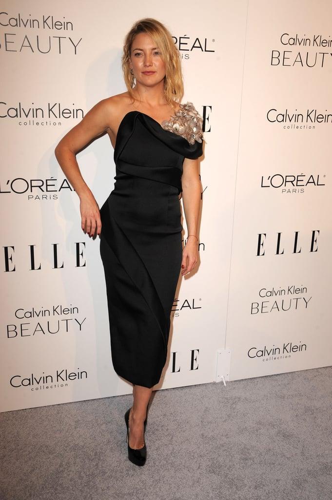 Kate Hudson Wearing a Black Dress | Kate Hudson Ann Taylor ...