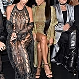 Kim Kardashian, Kourtney Kardashian, and Kris Jenner