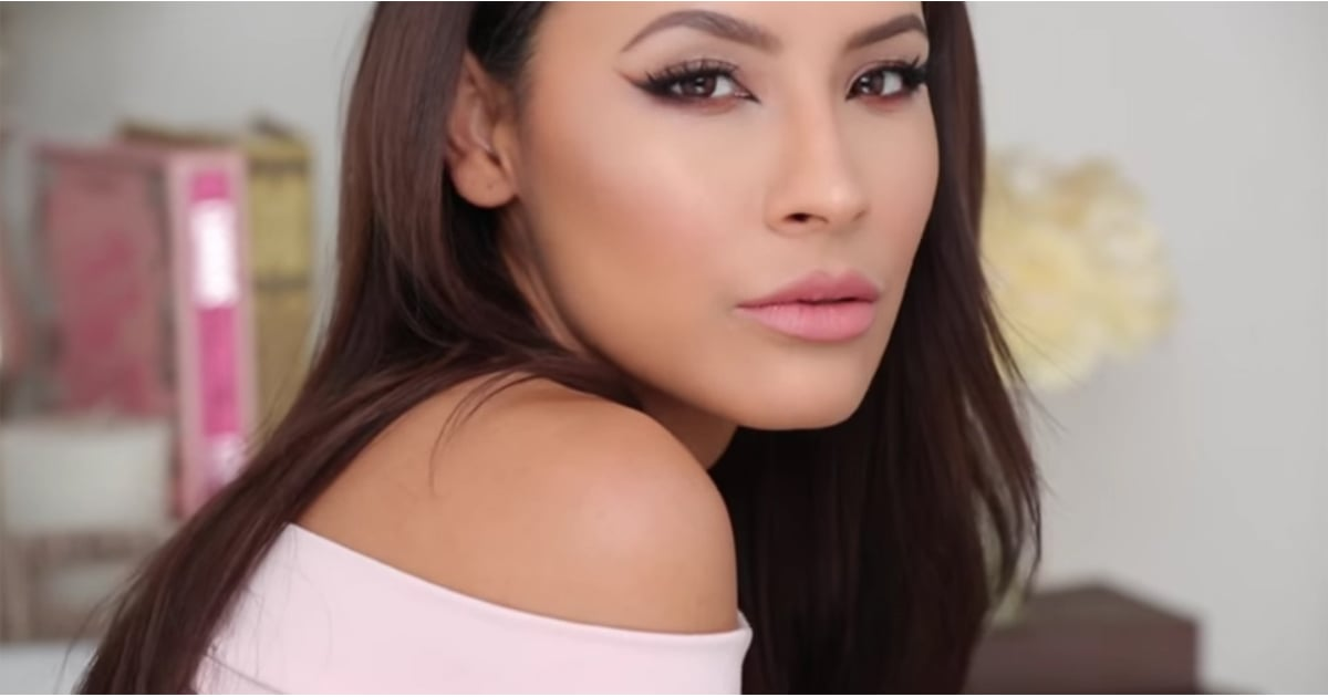 Desi Perkins S Valentine S Day Makeup Tutorial Popsugar Latina