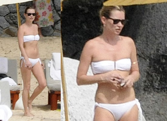 Photos of Kate Moss in Bikini on Holiday in Thailand
