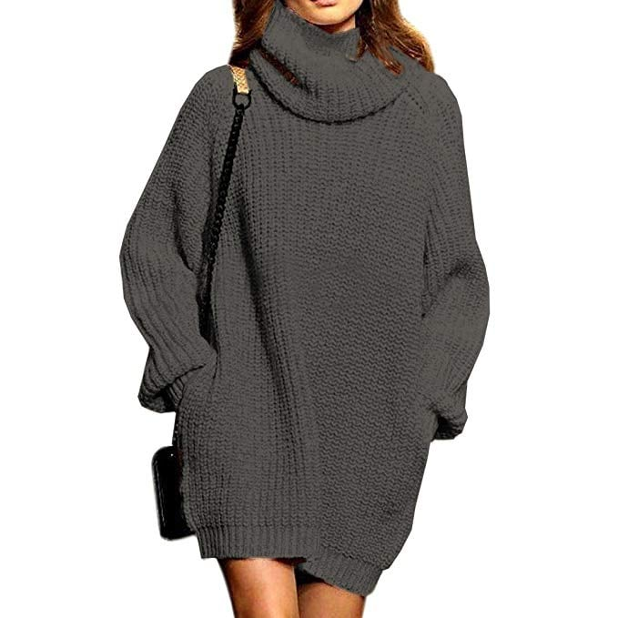 SSeary Turtleneck Oversized Sweater  c4ed9b51b