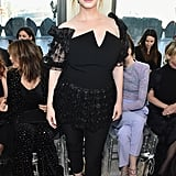 Christina Hendricks at Christian Siriano Fall 2019