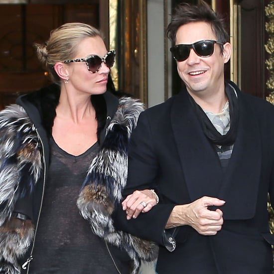 Kate Moss and Jamie Hince Leaving Meurice Hotel | Pictures