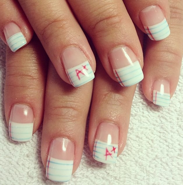 Back-to-School Nail Art Designs | POPSUGAR Beauty