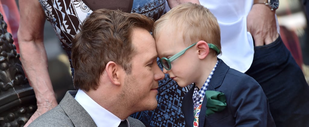 Chris Pratt With Son Jack Pictures