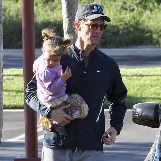 Matthew McConaughey With Wife Camila and Kids Pictures