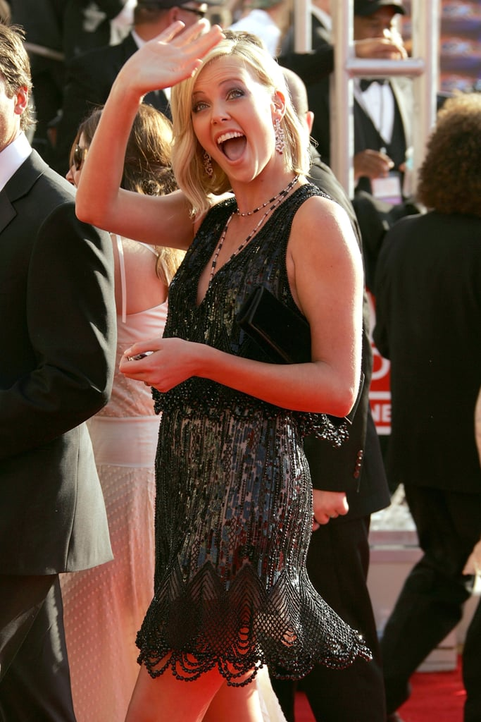 Charlize Theron at the 2005 Emmy Awards