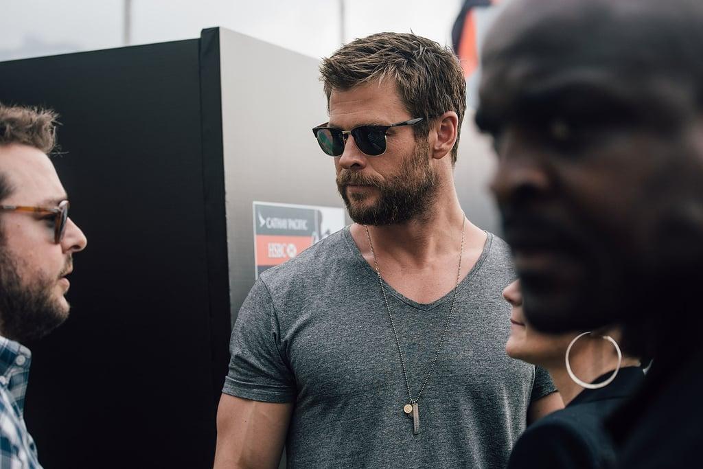 Chris Hemsworth and Hong Kong Rugby Team April 2016
