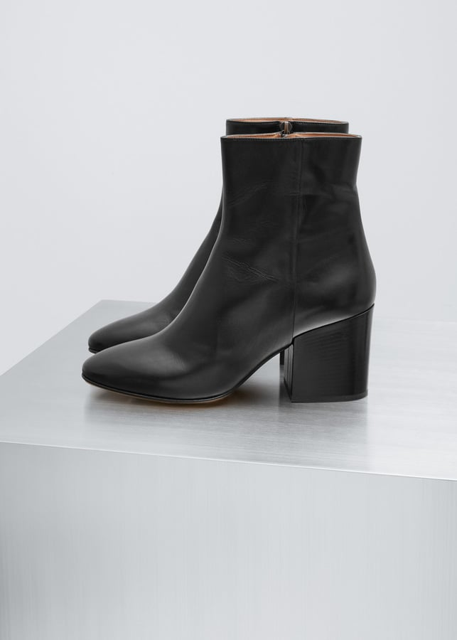 Dries Van Noten Black Ankle Boot