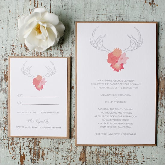Free Printable Wedding Invitations POPSUGAR Smart Living UK