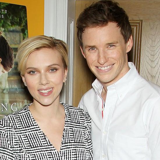 Scarlett Johansson First Postbaby Event 2014   Photos