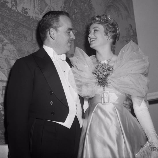 Photos de Grace Kelly et du Prince Rainier III