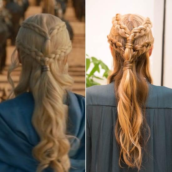 DIY This Insane Daenerys-esque, 2-Tiered Plait