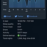 Use a Sleep Tracker