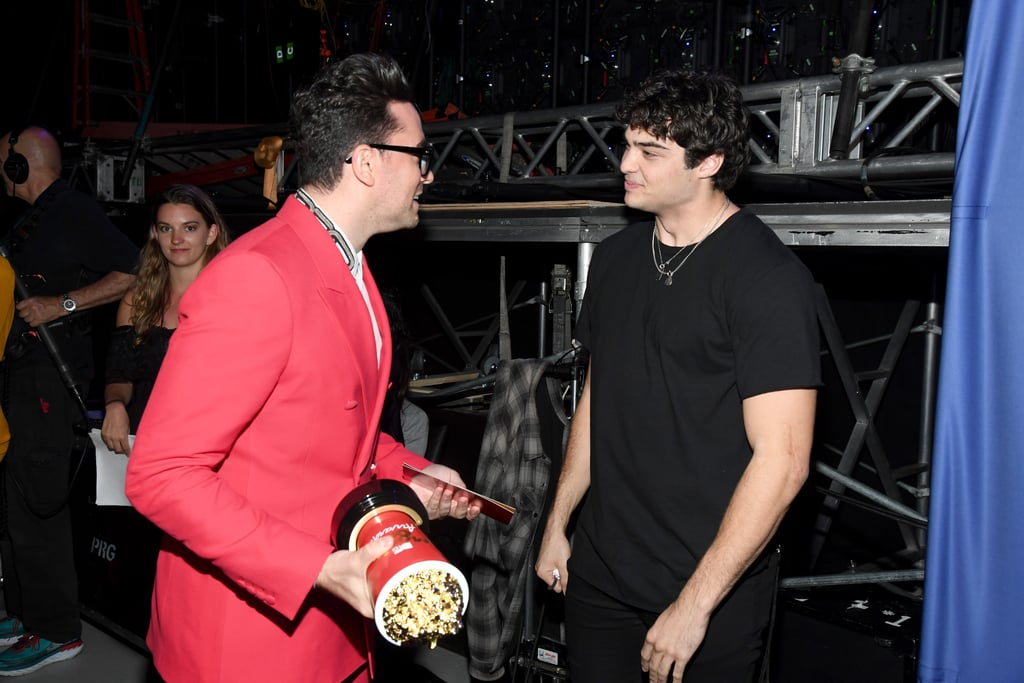 Daniel Levy and Noah Centineo at the 2019 MTV Movie and TV Awards