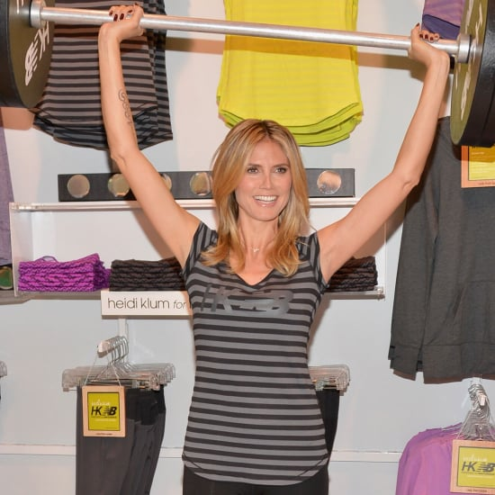 Heidi Klum For New Balance Event in LA | Pictures