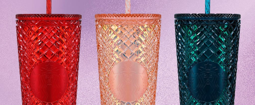 See Starbucks's New Jeweled Cold Cups For the 2021 Holidays