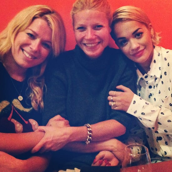 Gwyneth Paltrow and Rita Ora at Dinner Together Photo
