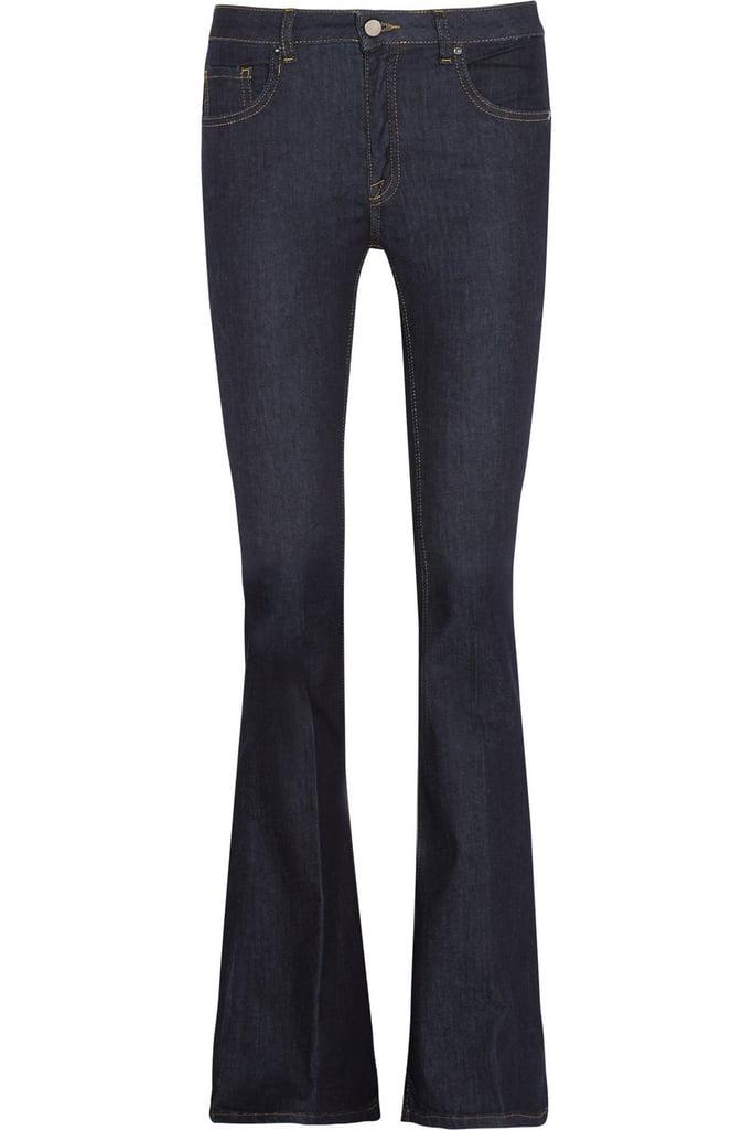 Victoria Beckham Denim Flare high-rise jeans ($320)