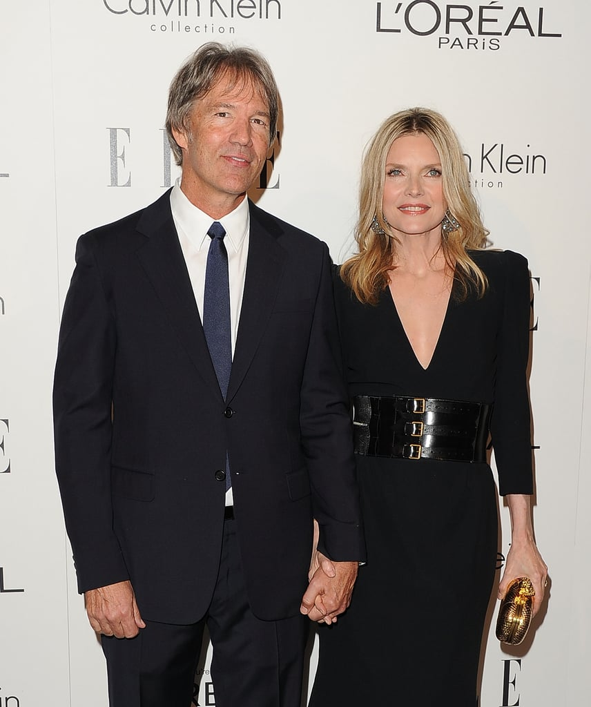 Michelle Pfeiffer and David Kelley held hands in LA.