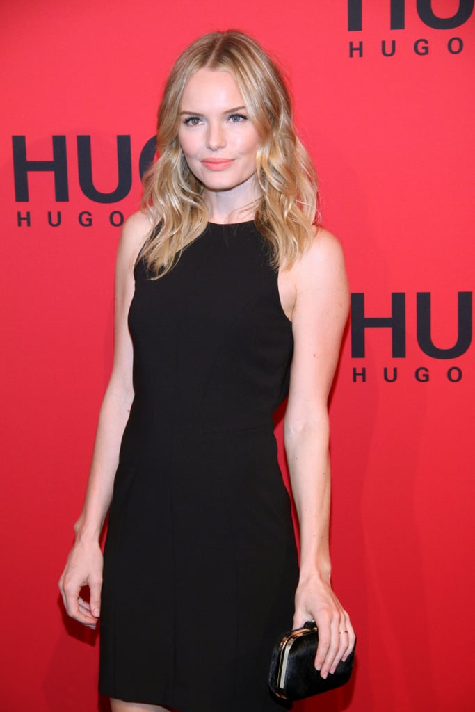 Kate Bosworth arrived for the Hugo by Hugo boss fashion show.