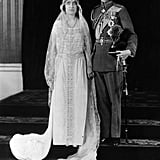 Prince Albert and Lady Elizabeth Bowes-Lyon The Bride: Lady Elizabeth Bowes-Lyon. The Groom: Prince Albert, who would become King George VI. When: April 26, 1923. Where: Westminster Abbey. The BBC's request to broadcast the ceremony was rejected.