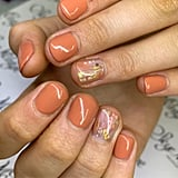 Nail Art Trend in Sydney, Australia: Abstract Metallics