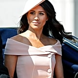 Meghan Markle Straight Hair Oct. 2018