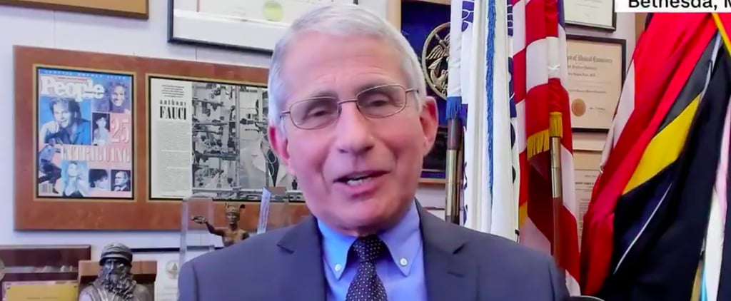 Dr. Fauci Tells Kids He Gave Santa the COVID-19 Vaccine
