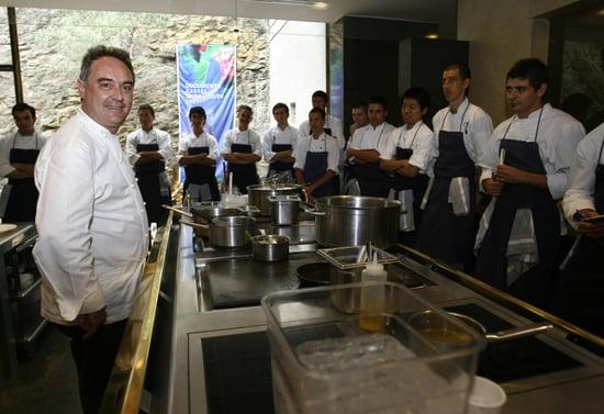 Ferran Adrià: El Bulli Staff Is Well-Fed