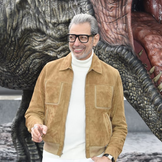 Jeff Goldblum Lets His Toddler Say Ass