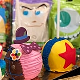 Bing Bong and Pixar Ball Cake Pops