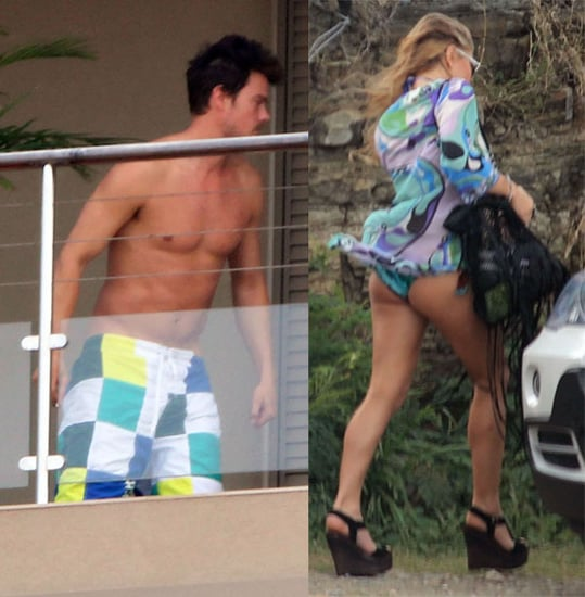 Pictures of Fergie and Josh Duhamel Vacationing in St Barts