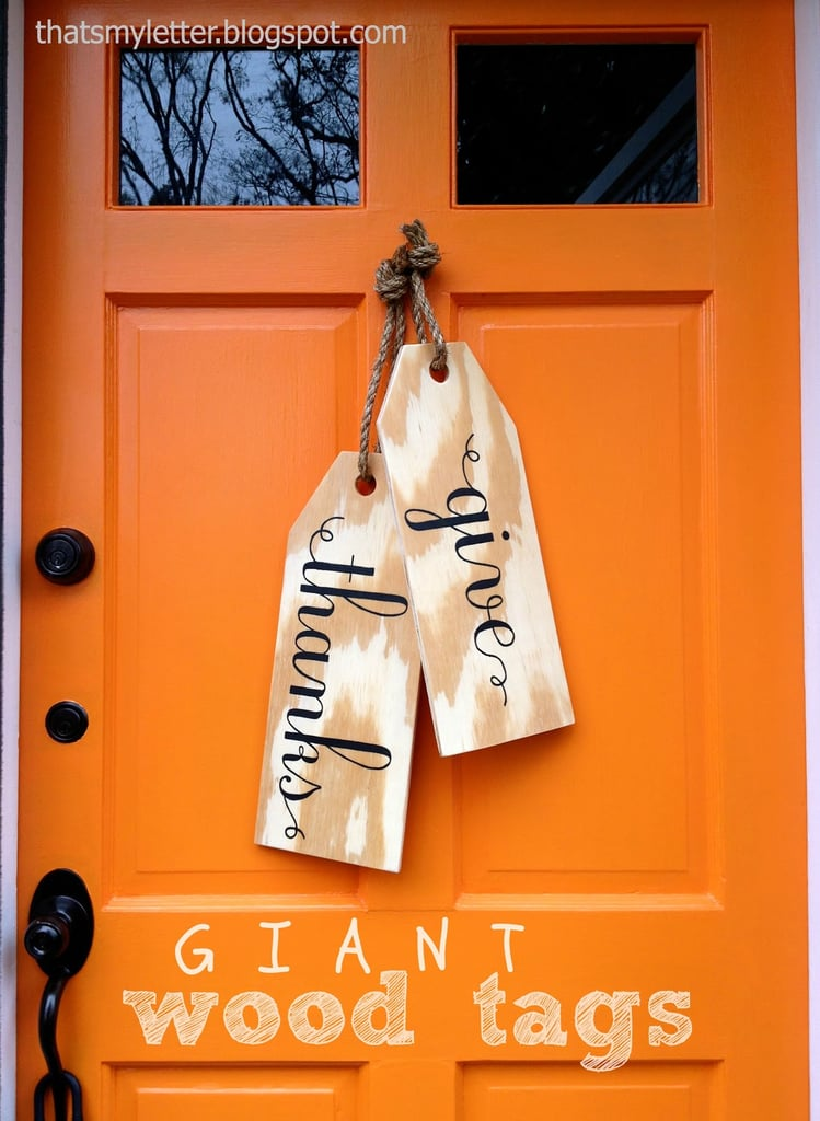 Giant Hanging Tags
