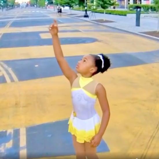 Kaitlyn Saunders Black Lives Matter Skate Routine
