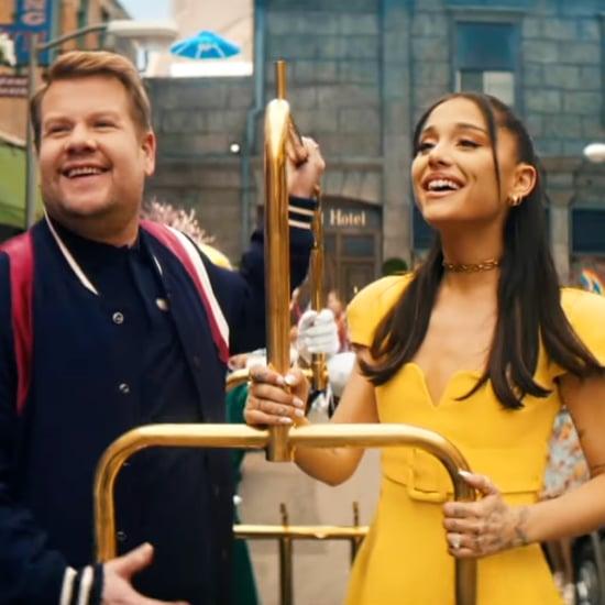 Watch Ariana Grande and James Corden's Hairspray Parody
