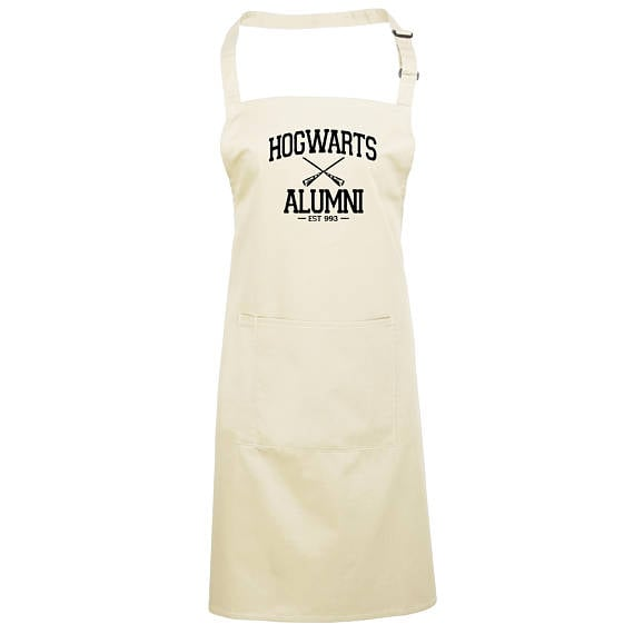 Hogwarts Alumni Apron ($24)